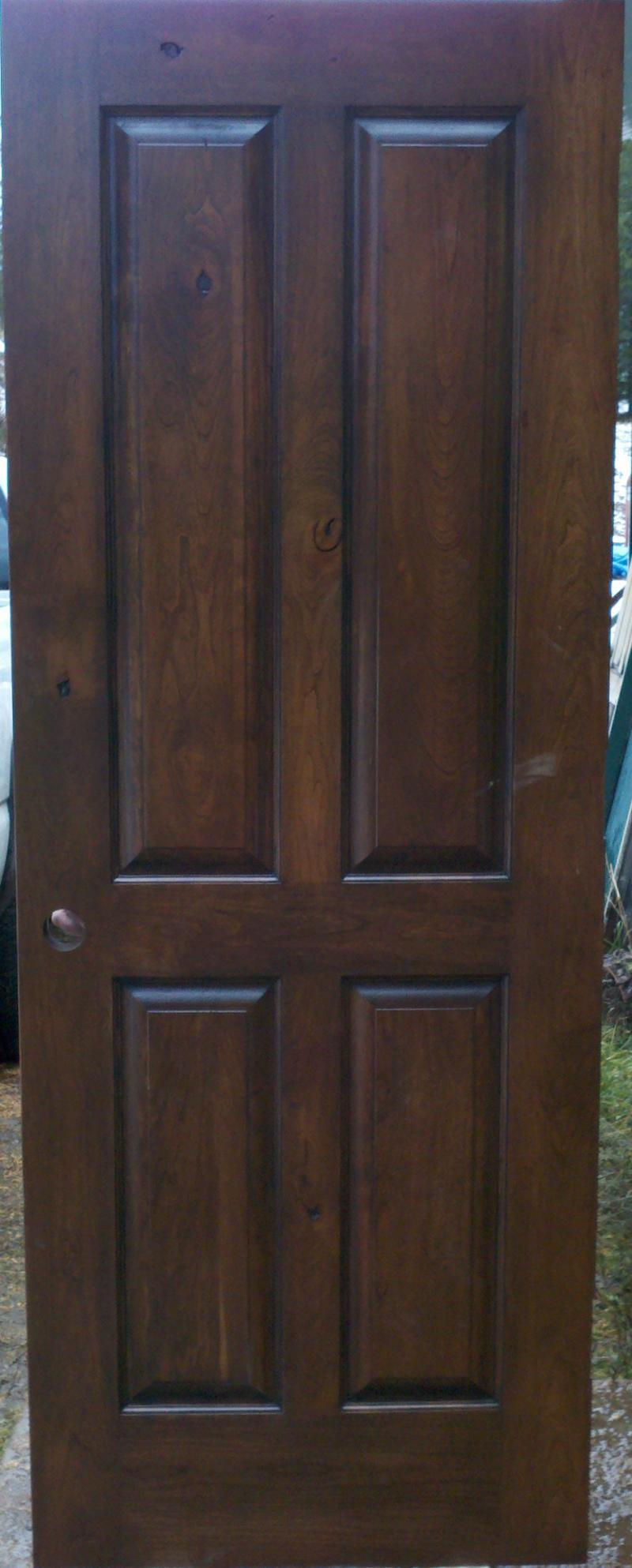 Interior exterior solid wood doors in washington montana ca 4 rustic cherry raised panels eventelaan Gallery