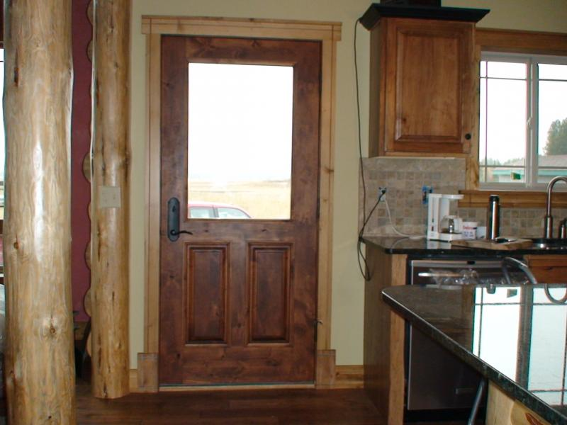 Interior exterior solid wood doors in washington for Exterior kitchen doors with glass