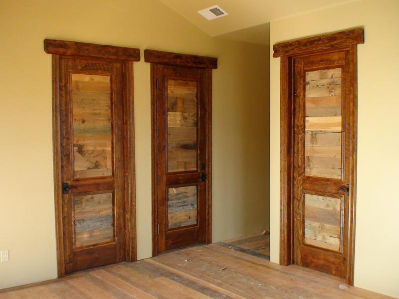 Interior exterior solid wood doors in washington montana ca 9 reclaimed wood horizontal raised panels planetlyrics Choice Image