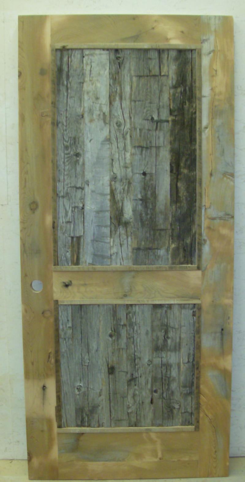 Authentic handhewn timber panels with reclaimed fir frames