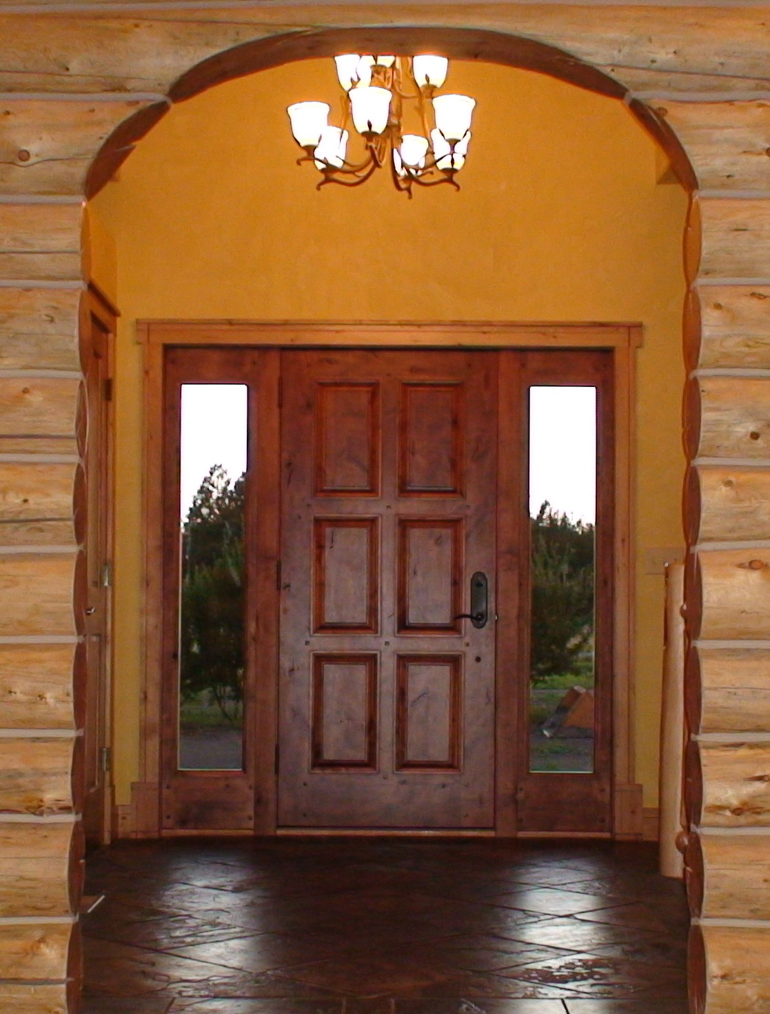 Home entrance door wood exterior doors with glass for Wood for exterior door