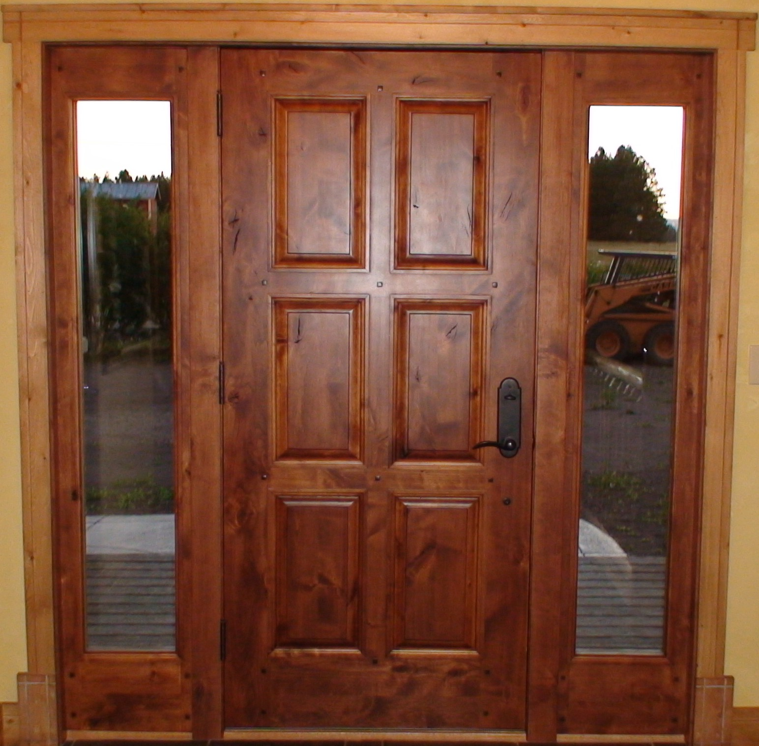 Interior exterior solid wood doors in washington for Hardwood doors